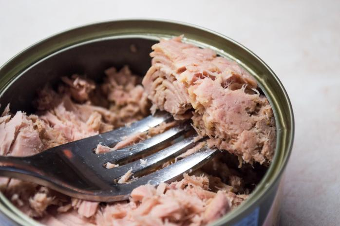 Tunafish in a Can With a Fork